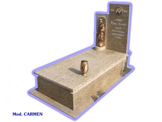 Sepultura de tierra - modelo Carmen