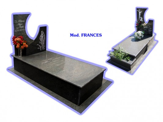 Sepultura de tierra - modelo francés