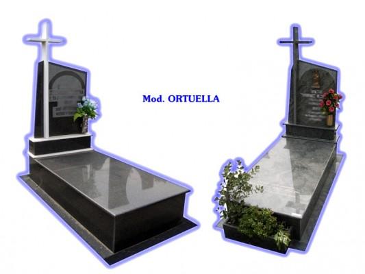 Sepultura de tierra - modelo Ortuella