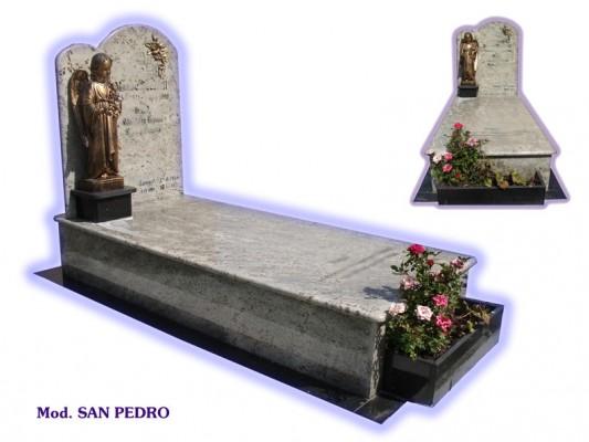 Sepultura de tierra - modelo San Pedro