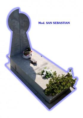Sepultura de tierra - modelo San Sebastián