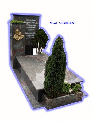Sepultura de tierra - modelo Sevilla