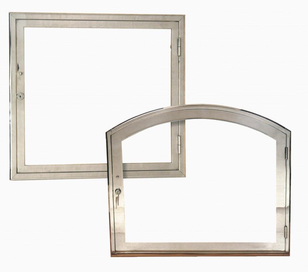 Puerta acero inox marmoler a norte for Marmoleria precios