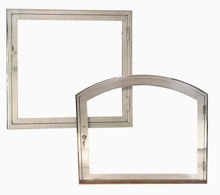 Puerta acero inox.